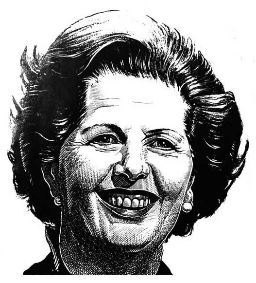 Margret Thatcher portrait painters London Kent