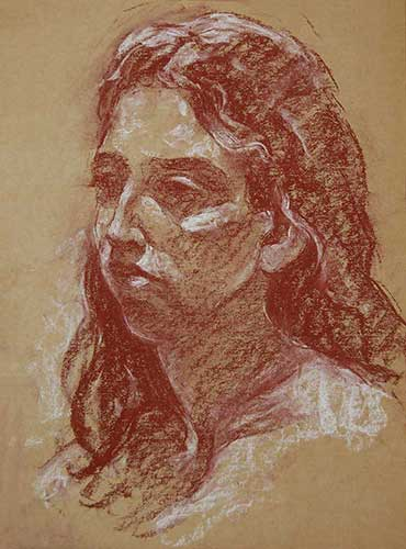 portraits in pastel Ana1 F