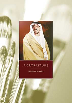 portrait painters brochure