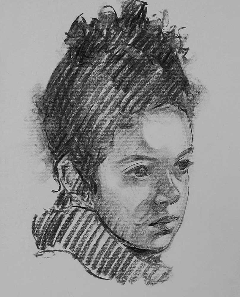 portraits-charcoal-aimee