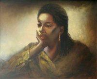portraits in oil Alison F
