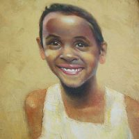 portraits in oil Eith F