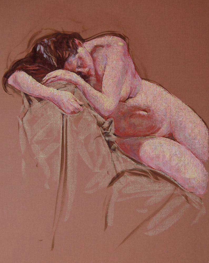 pastel painting Anna 1