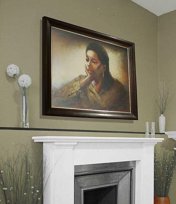 portrait painters London Kent Alison framed