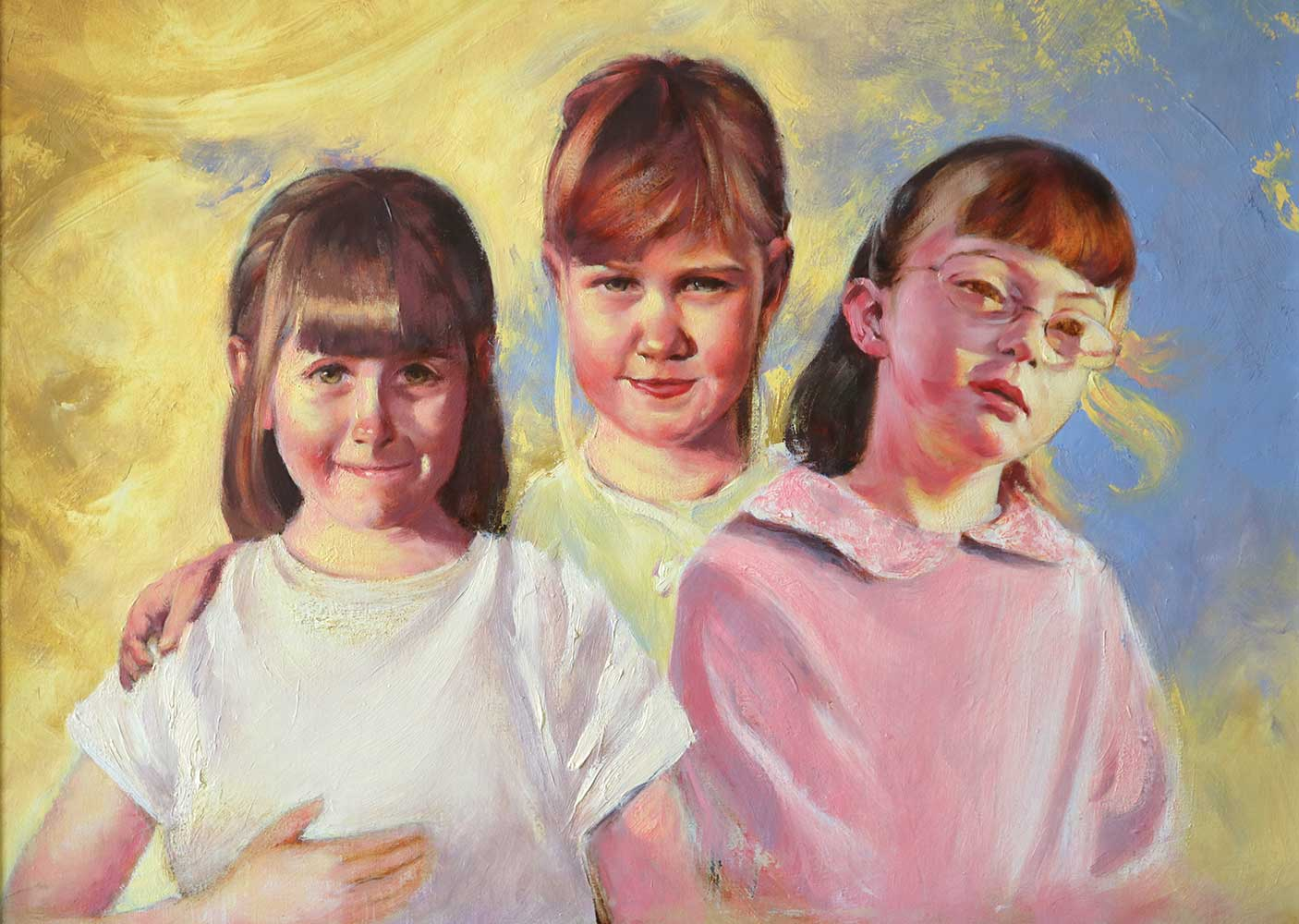 portrait-painting-girls