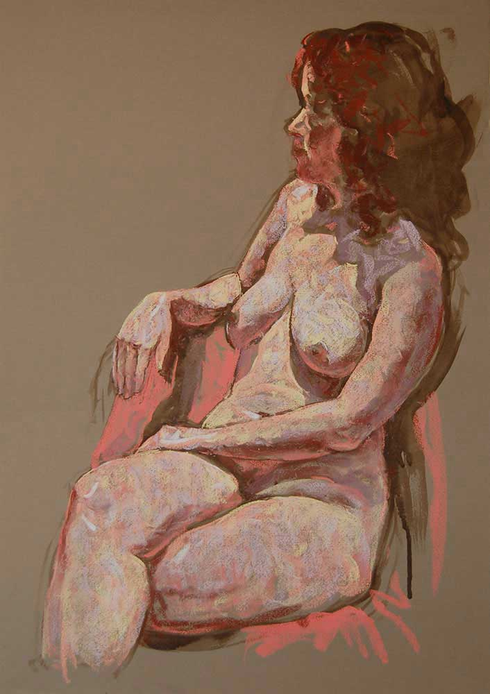 pastel painting Gill